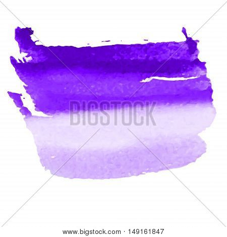 vector violet dye retro watercolor stroked design template for a frame