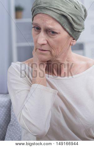 Worried Sick Woman