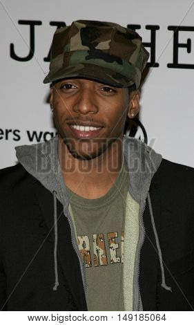 Jocko Sims at the World premiere of 'Jarhead' held at the Arclight Cinemas in Hollywood, USA on October 27, 2005.