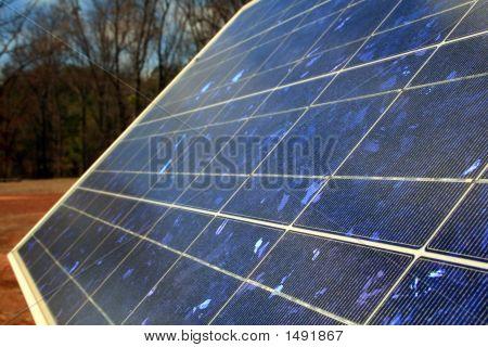Closeup Solar Panel
