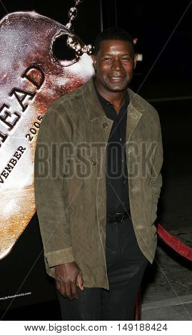 Dennis Haysbert at the World premiere of 'Jarhead' held at the Arclight Cinemas in Hollywood, USA on October 27, 2005.