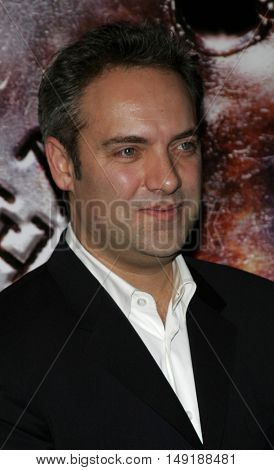 Sam Mendes at the World premiere of 'Jarhead' held at the Arclight Cinemas in Hollywood, USA on October 27, 2005.