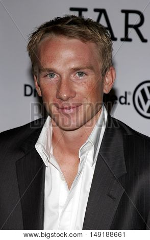 Peter Gail at the World premiere of 'Jarhead' held at the Arclight Cinemas in Hollywood, USA on October 27, 2005.