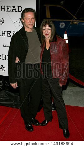 Chris Cooper and wife Marianne at the World premiere of 'Jarhead' held at the Arclight Cinemas in Hollywood, USA on October 27, 2005.