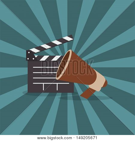 cinematography direction related icons image vector illustration design