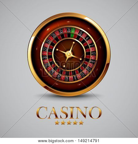 casino advertising design with a tape measure on a gray background