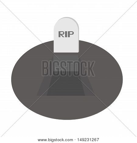 Dig Grave Rip Icon Of Vector Esp 10