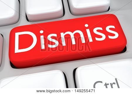 Dismiss - Employment Concept