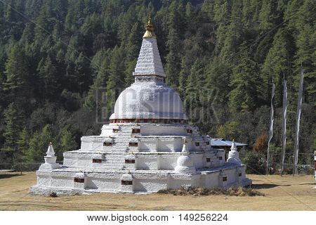 Chendebji Chorten, Bhutan
