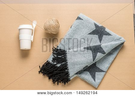 Winter Cold Sickness Concept