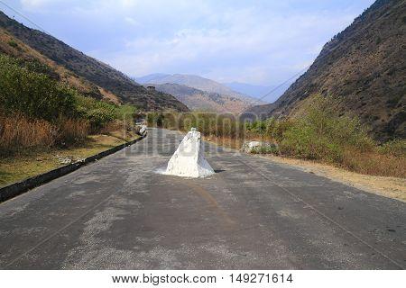 Road In Bhutan