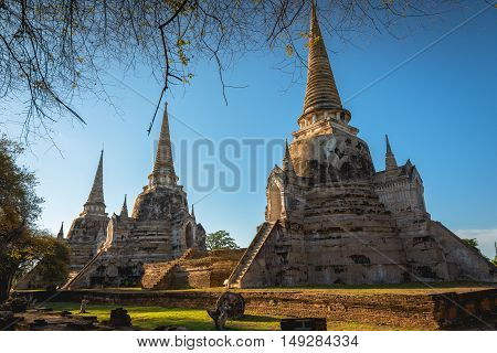 Ayutthaya Historical Park, Phra Nakhon Si Ayutthaya, Ayutthaya , Thailand