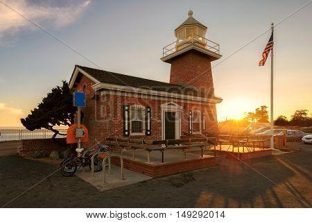 Santa Cruz lighthouse museum a memorial to surfers