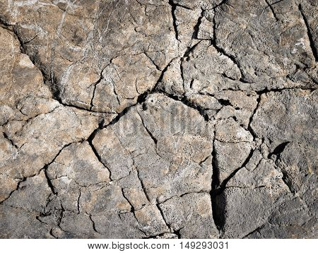 abstract background or texture old rugged grooves of surface limestone rocks