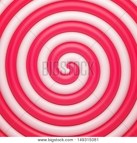 Abstract candy background. Vector illustration with gradient meshes