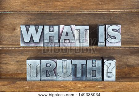 What Is Truth Tray