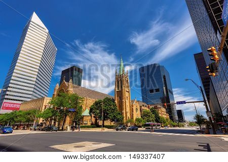 The Cathedral of St. John the Evangelist on Superior Ave, Cleveland, OH on June 30, 2916, Cleveland, OH
