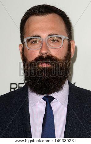 LOS ANGELES - SEP 26:  Jared Hess at the