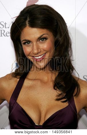 Samantha Harris at the 'Runway For Life' Benefiting St. Jude Children's Research Hospital held at the  Beverly Hilton in Beverly Hills, USA on September 15, 2006.