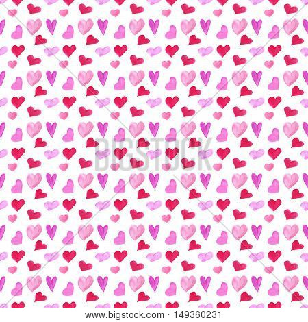 Sweat heart seamless pattern foe Valentines Day design