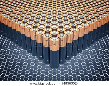 Graphene supercapacitor batteries , Nanotechnology , Power storage