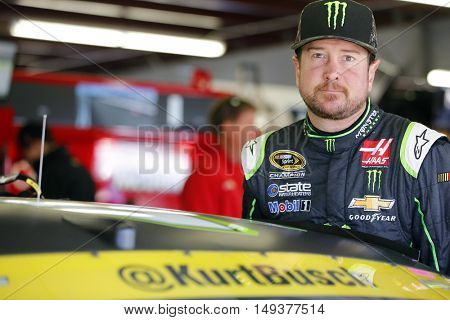 Loudon, NH - Sep 24, 2016: Kurt Busch (41) gets ready to practice for the Bad Boy Off Road 300 at the New Hampshire Motor Speedway in Loudon, NH.