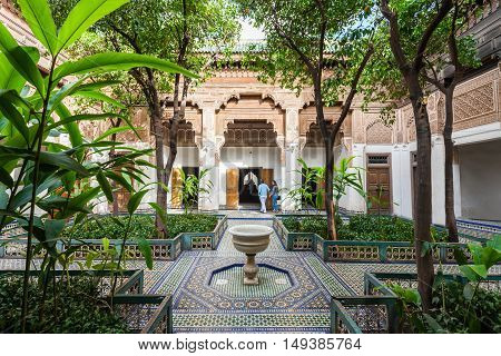 Marrakesh Bahia Palace
