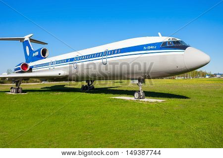 The Tupolev Tu-154 Aircraft
