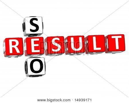 Seo Result Crossword