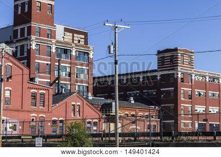 Abandoned Industrial Factory - Urban Desolation, Worn, Broken and Forgotten I