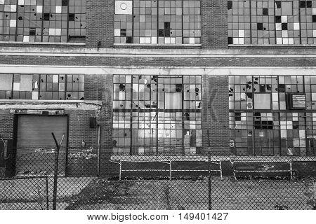 Abandoned Industrial Factory - Urban Desolation, Worn, Broken and Forgotten II