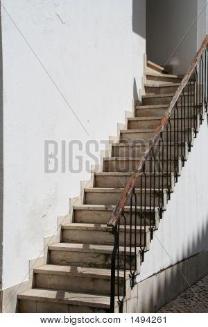White Stairway