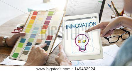 Branding Innovation Creative Inspire Concept