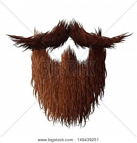 Beard strong, hairy and curly for No Shave November poster