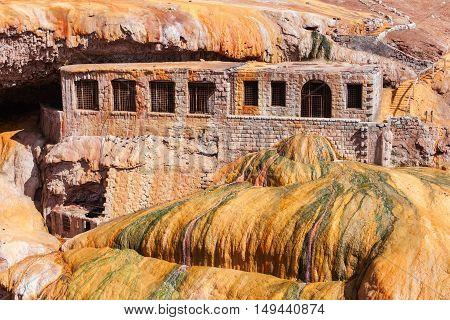 Inca's Bridge Near Mendoza