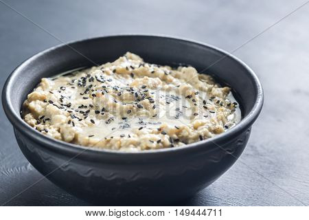 Bowl Of Baba Ghanoush