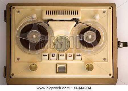 Old Portable Tape-recorder