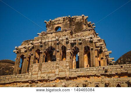 Old Ruins Of Hampi, Karnataka, India