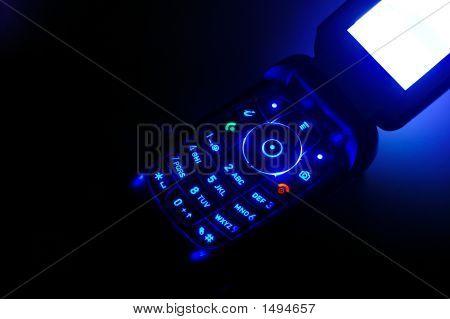 Mobile Ringing In The Dark Closeup