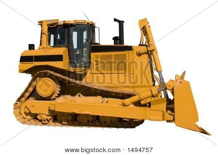 New Dozer Side Isolated
