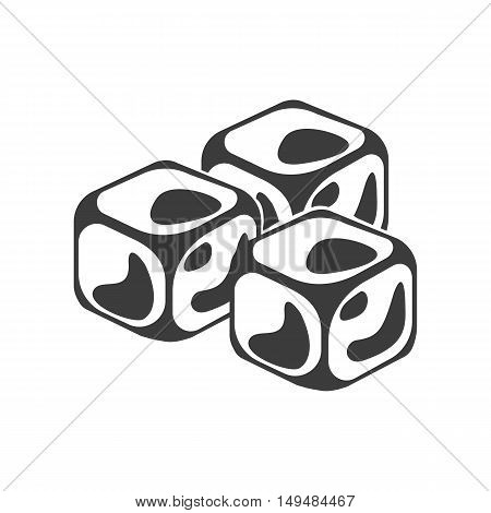 ice cube icon ice vector photo free trial bigstock ice cube icon ice vector photo free