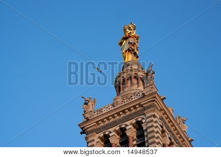 Tower bell of Notre-Dame de la Garde
