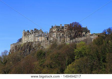Stirling Castle, Western Highlands Of Scotland