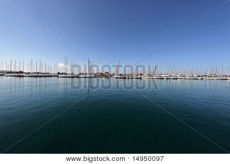 Marine on the Adriatic Sea