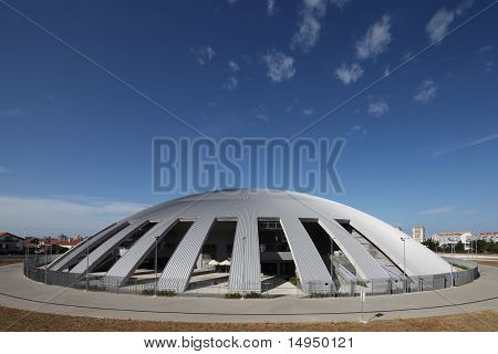 Modern Sport hall in Zadar Croatia