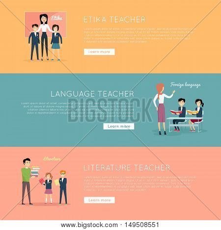 Educational Website Banners Company Training Banners