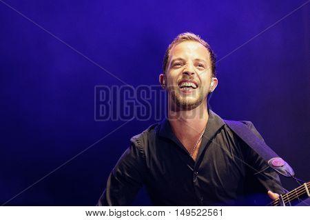 James Morrison Performing Live at Festival MEO Marés Vivas 19.07.2013 Porto - Portugal