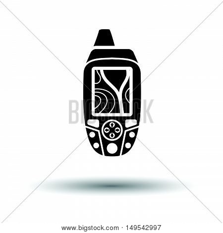 Portable Gps Device Icon
