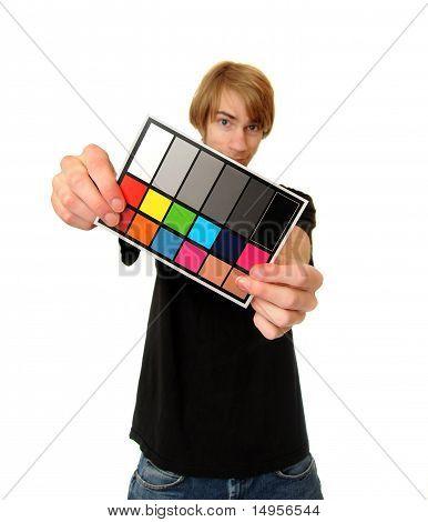 White Balance Color Card