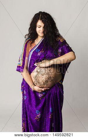 Pregant  Woman Portrait